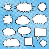 Comic-Buch-Spracheblasen Lizenzfreies Stockbild