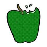 comic cartoon apple Royalty Free Stock Image