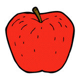 comic cartoon apple Royalty Free Stock Images