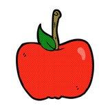 comic cartoon apple Royalty Free Stock Photography