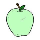 comic cartoon apple Stock Image