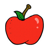 comic cartoon apple Royalty Free Stock Photos