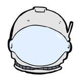 comic cartoon astronaut face Stock Photos