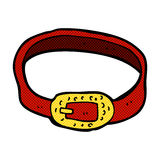 Comic cartoon belt Royalty Free Stock Images