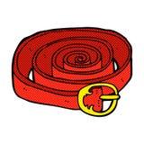 Comic cartoon belt Stock Photos