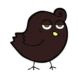 Comic cartoon bird Royalty Free Stock Images