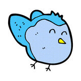 Comic cartoon bird Royalty Free Stock Photography