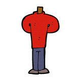 comic cartoon body standing still  (mix and match comic cartoons Royalty Free Stock Photos