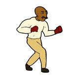 comic cartoon boxer Royalty Free Stock Image