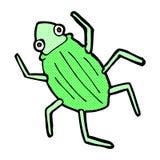 comic cartoon bug Royalty Free Stock Photography