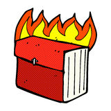 Comic cartoon business file Stock Photo