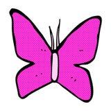 comic cartoon butterfly symbol Stock Photos