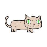 comic cartoon cat Royalty Free Stock Image