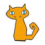 comic cartoon cat Royalty Free Stock Images