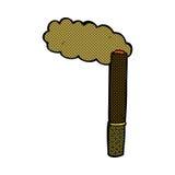 Comic cartoon cigar Stock Photos