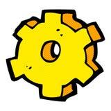 comic cartoon cog symbol Royalty Free Stock Photos