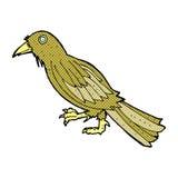 comic cartoon crow Royalty Free Stock Image