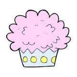 comic cartoon cup cake Royalty Free Stock Photos