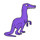 Comic cartoon dinosaur Royalty Free Stock Photo