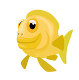 Comic cartoon fish Stock Photo