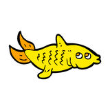 Comic cartoon fish. Retro comic book style cartoon fish Stock Photo