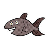 Comic cartoon fish Royalty Free Stock Photography