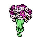 comic cartoon flowers Royalty Free Stock Photos