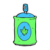 Comic cartoon fragrance spray Stock Photo