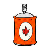 comic cartoon fragrance spray Stock Images