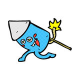 Comic cartoon funny firework character Royalty Free Stock Photos