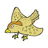 Comic cartoon garden bird Stock Photo