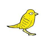 Comic cartoon garden bird Stock Photography