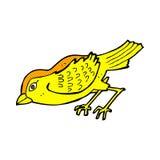 Comic cartoon garden bird Royalty Free Stock Photography
