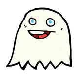 comic cartoon ghost Stock Photo