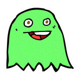 comic cartoon ghost Royalty Free Stock Photography