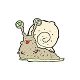 Comic cartoon gross slug Stock Photos