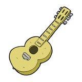 comic cartoon guitar Royalty Free Stock Image