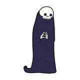 Comic cartoon halloween ghoul Stock Photos