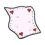 Comic cartoon handkerchief Stock Photography