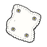 Comic cartoon handkerchief Royalty Free Stock Photos