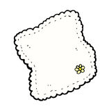 Comic cartoon handkerchief Royalty Free Stock Image