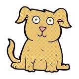 Comic cartoon happy dog Royalty Free Stock Photo