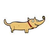 Comic cartoon happy dog Royalty Free Stock Photos