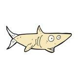 Comic cartoon happy shark Royalty Free Stock Photo