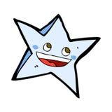 comic cartoon happy star character Royalty Free Stock Image