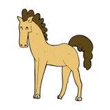 Comic cartoon horse Royalty Free Stock Photo
