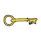 comic cartoon key Stock Photo