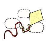 comic cartoon kite Royalty Free Stock Photos