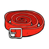 comic cartoon leather belt Stock Images