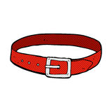 comic cartoon leather belt Stock Photo